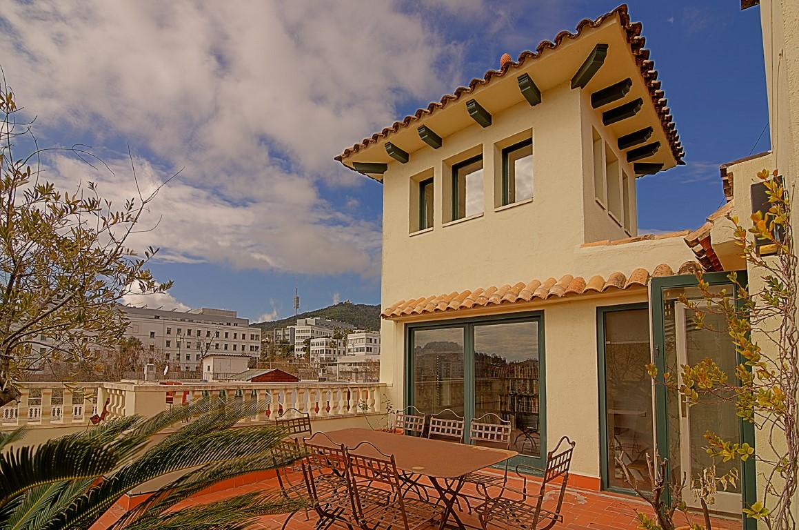 Casa venta barcelona modernista gracia reformada soleada - Casas modernistas barcelona ...